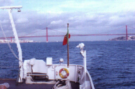 Lisbon bridge from D.Carlos